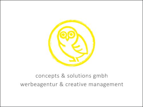 concepts & solutions GmbH - Ihre Werbeagentur aus Bielefeld